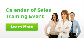 Calendar of Sales Training Events!